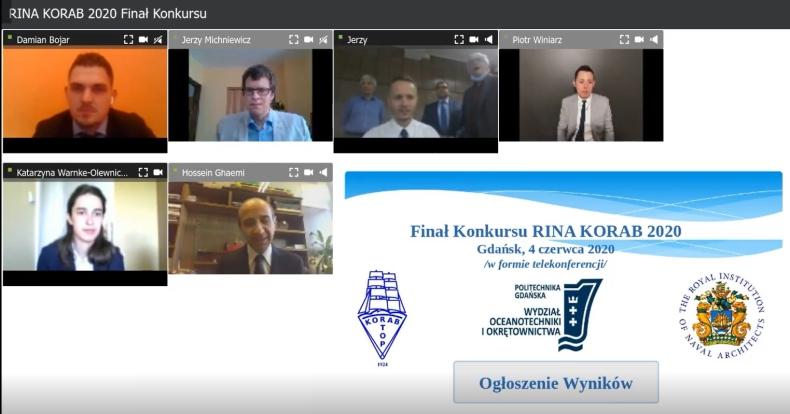 Finał Konkursu RINA-KORAB 2020 - GospodarkaMorska.pl