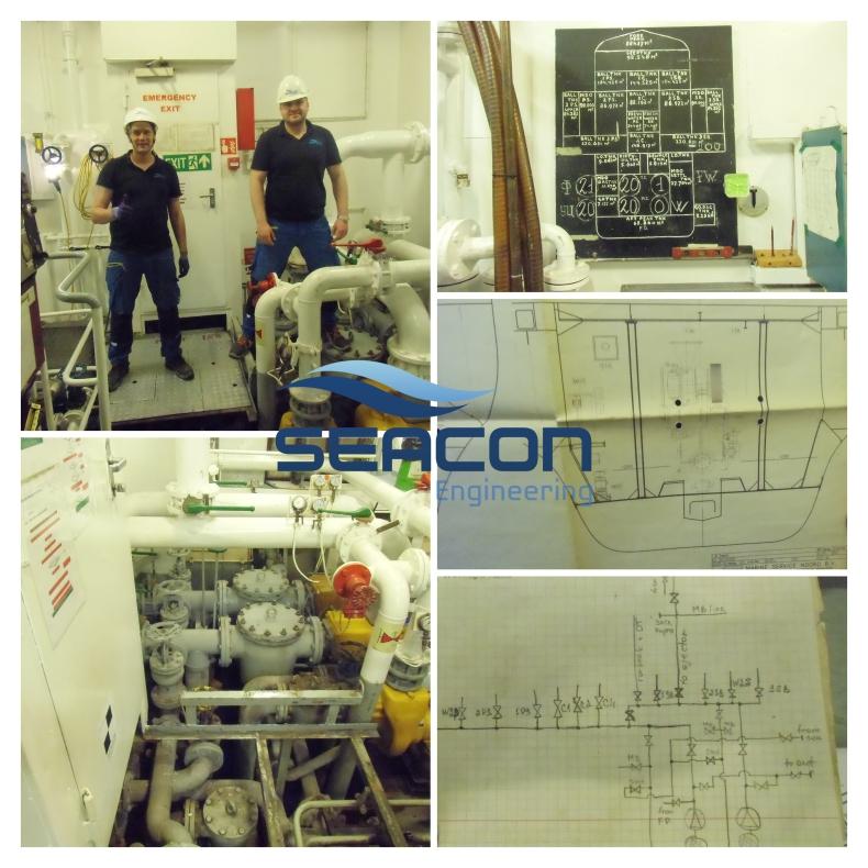 Skan 3D siłowni okrętowej w Niemczech w wykonaniu SEACON Engineering - GospodarkaMorska.pl