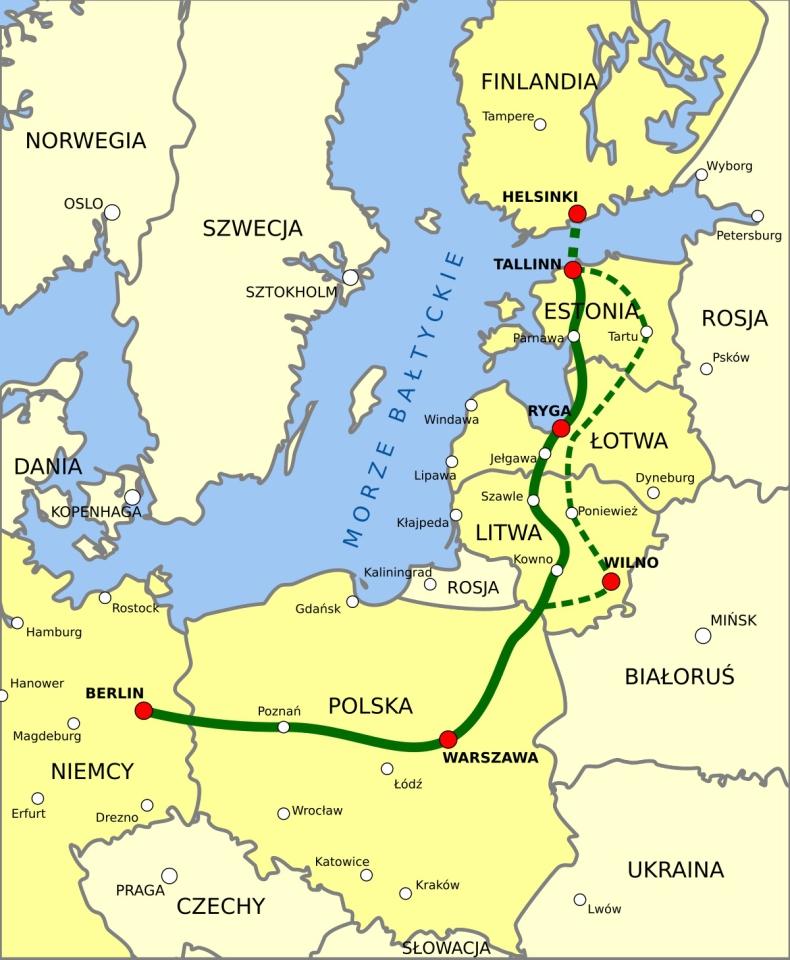 Unijny audyt stawia znak zapytania co do rentowności Rail Baltica - GospodarkaMorska.pl