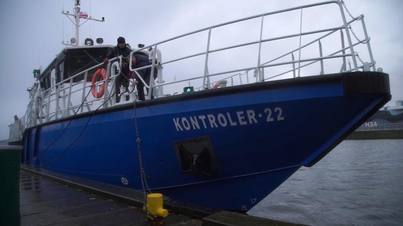Kontroler-22 - nowa jednostka kontrolno-inspekcyjna Urzędu Morskiego w Gdyni - GospodarkaMorska.pl