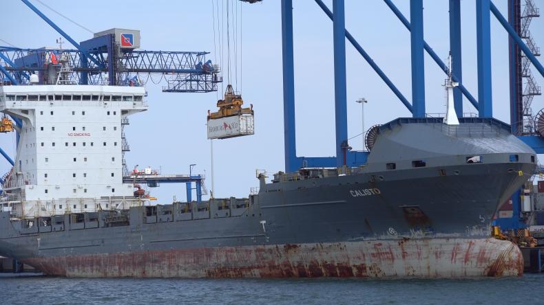 Inauguracja nowego serwisu Maersk AE19 statek-pociąg-statek w DCT Gdańsk - GospodarkaMorska.pl