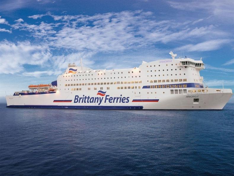 Brittany Ferries anulowało zamówienie na prom napędzany LNG - GospodarkaMorska.pl