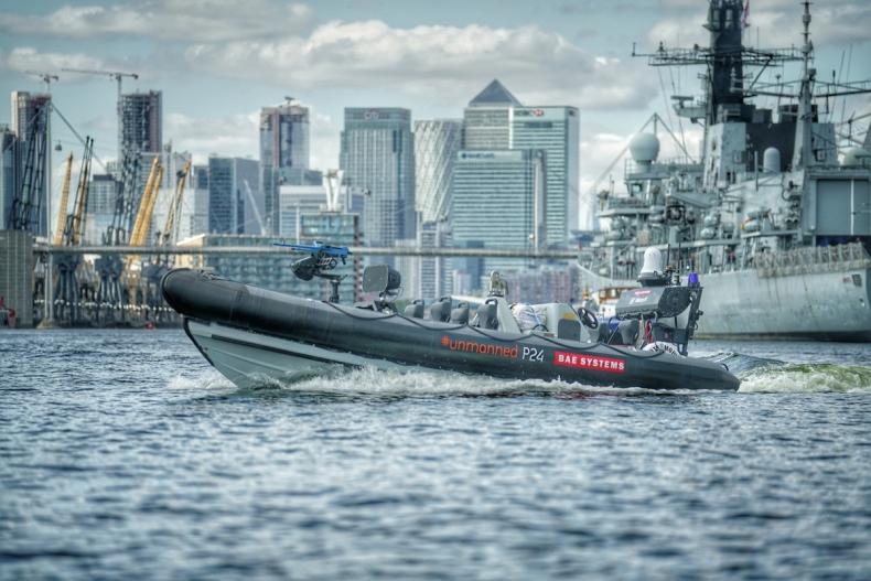 BAE Systems i Royal Navy prezentują autonomiczne łodzie morskie przyszłości - GospodarkaMorska.pl