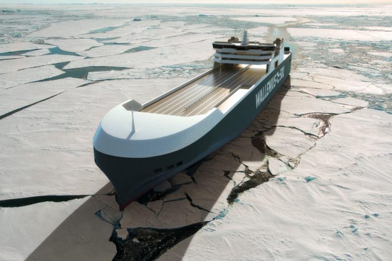 Rozpoczęła się budowa drugiej jednostki RoRo napędzanej LNG dla szwedzkiego Walleniusa - GospodarkaMorska.pl