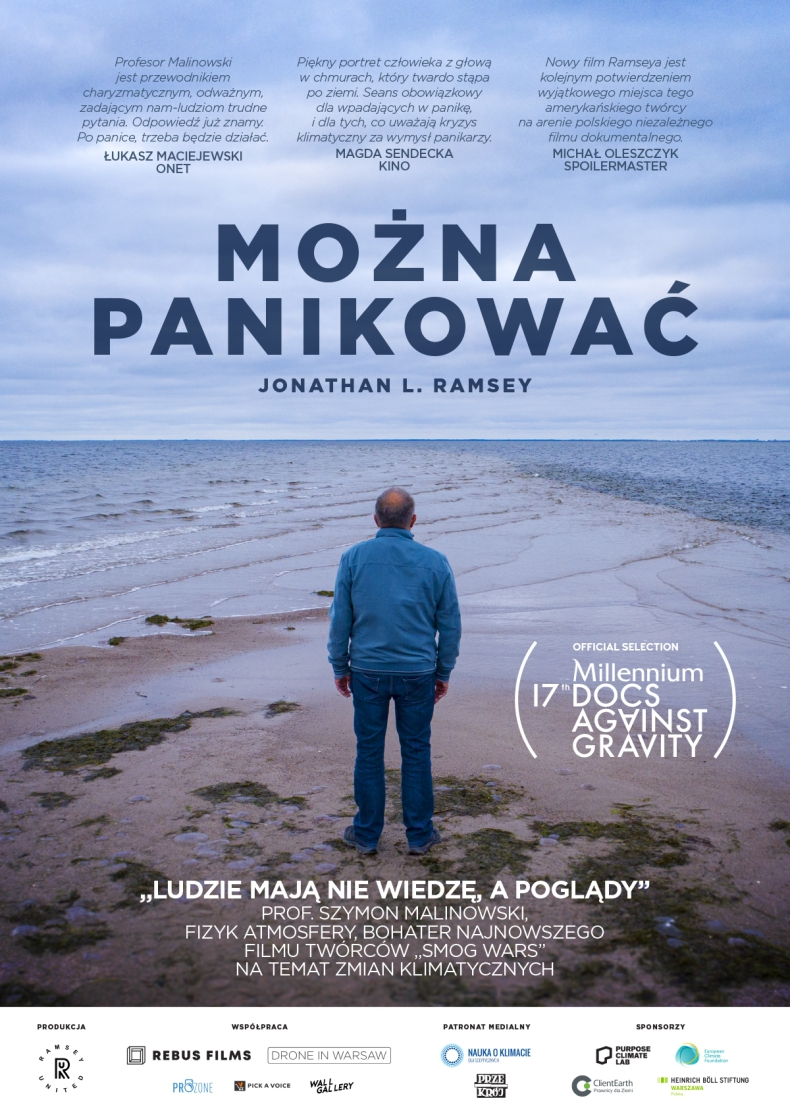 """""""Można panikować"""" - zbliżająca się katastrofa klimatyczna ukaza w pełnometrażowym filmie fizyka atmosferycznego - GospodarkaMorska.pl"""