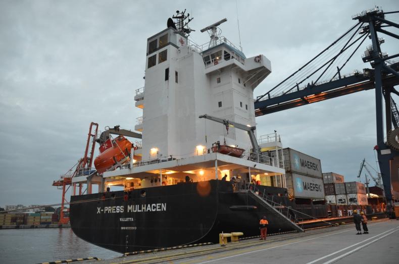 Powstało nowe połączenie feederowe pomiędzy Gdynia Container Terminal / Hutchison Ports Gdynia a Hamburgiem.  - GospodarkaMorska.pl