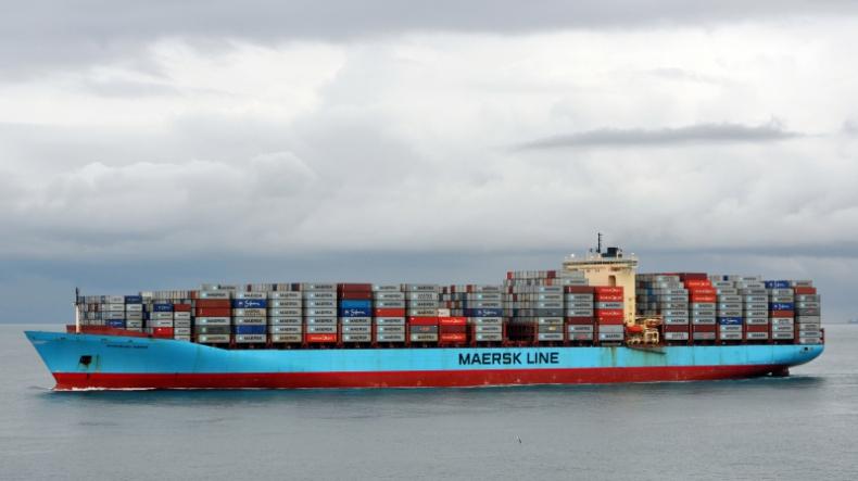 Na pokładzie statku Maerska znaleziono kontener z kokainą i... dwoma mężczyznami - GospodarkaMorska.pl