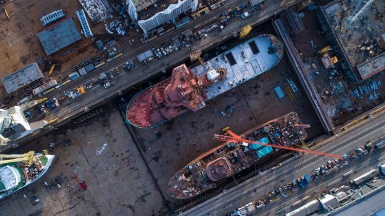 ISR: Clarksons znacząco obniża prognozy globalnej produkcji stoczniowej w tym roku - GospodarkaMorska.pl