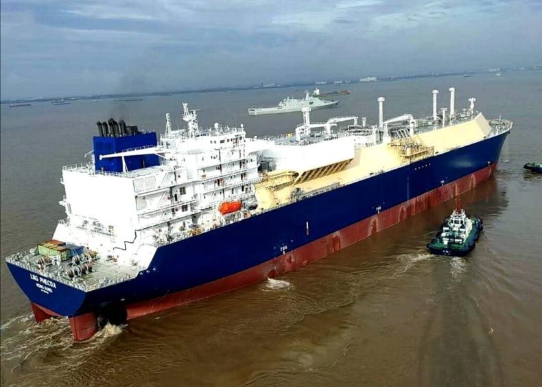 Hudong dostarczy trzecim gazowiec LNG dla terminalu Jamał - GospodarkaMorska.pl