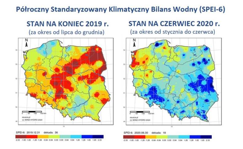 Czy w Polsce nadal mamy suszę? Najnowszy raport STOP SUSZY 2020  - GospodarkaMorska.pl