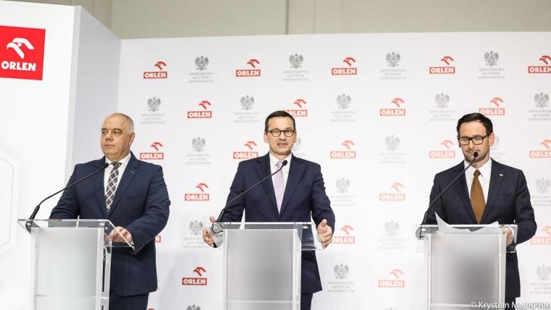 Morawiecki: przejęcia PKN Orlen to przełomowy proces dla konkurencyjności polskiej gospodarki - GospodarkaMorska.pl
