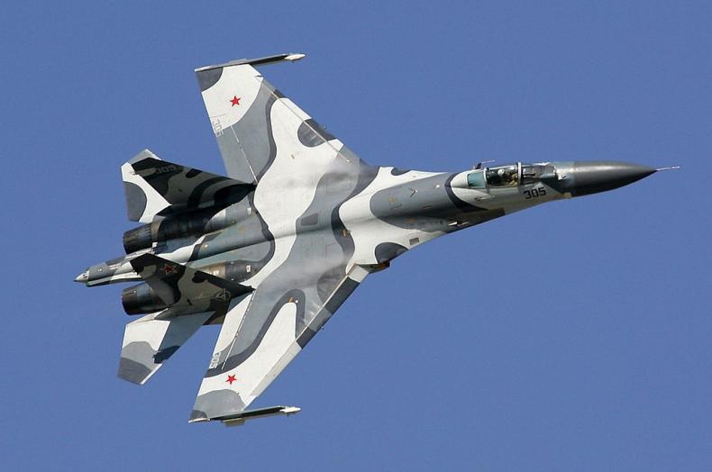 Rosja: myśliwiec Su-27 przechwycił samolot patrolowy USA nad morzem Czarnym - GospodarkaMorska.pl