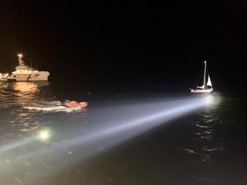 ZODIAK II w nocnej akcji ratunkowej na Zatoce Gdańskiej - GospodarkaMorska.pl