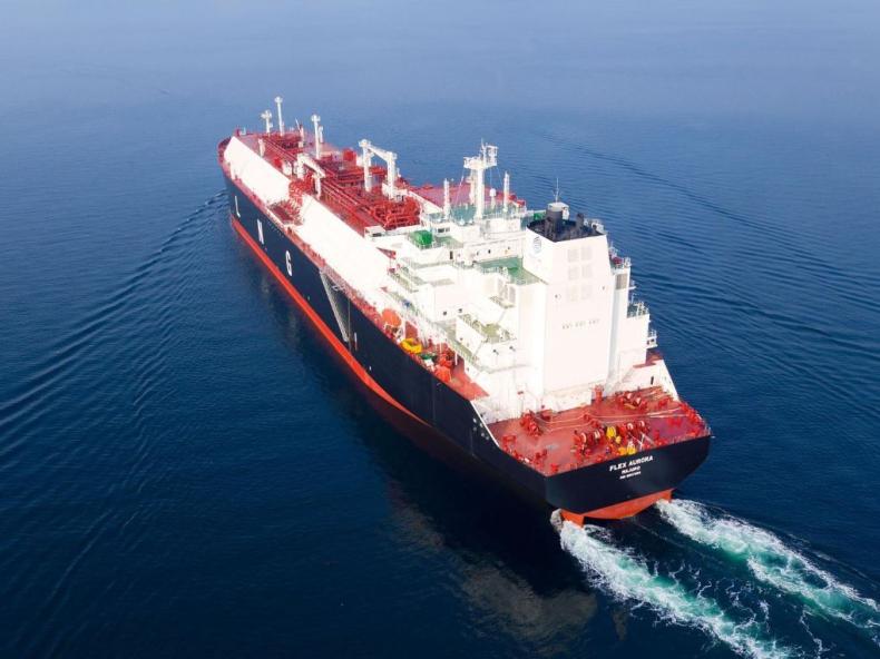 Flex odebrał pierwszy w tym roku gazowiec LNG - GospodarkaMorska.pl
