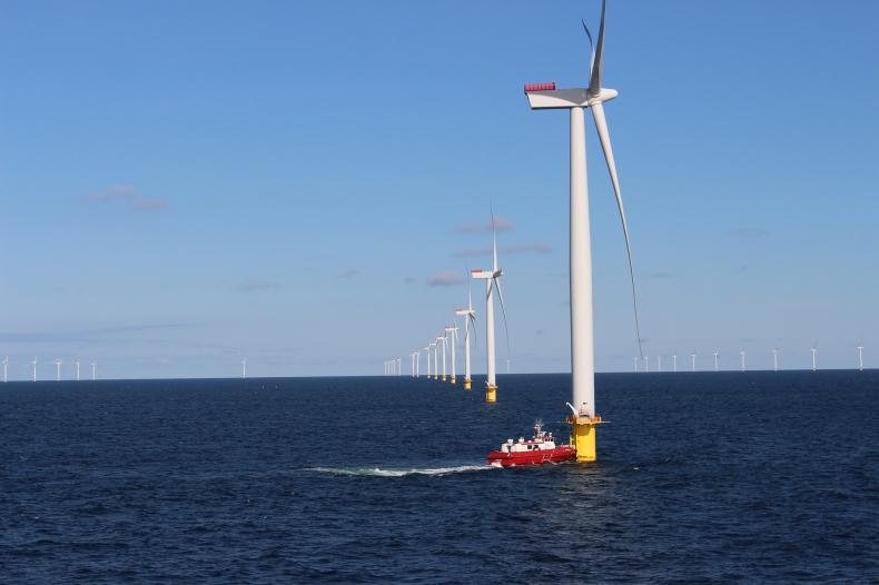 Super-hybrydowa holenderska morska farma wiatrowa Shella obejmie pływające panele słoneczne, baterie i wodór - GospodarkaMorska.pl
