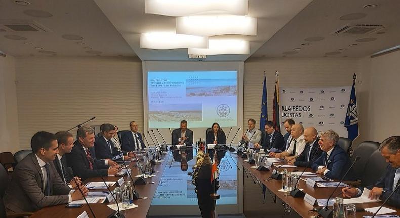 Delegacja Portu Gdańsk z wizytą w Kłajpedzie - GospodarkaMorska.pl