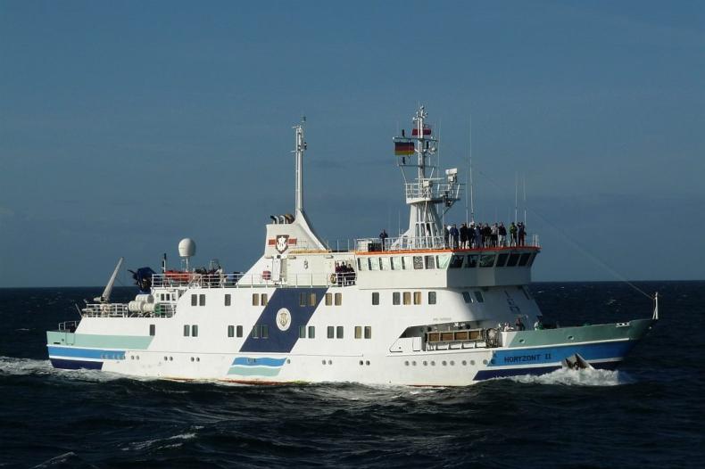 Jeszcze w tym miesiącu kolejna podróż statku badawczo-szkoleniowego Horyzont II  - GospodarkaMorska.pl