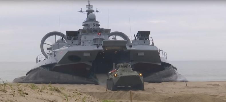 """Manewry morskie """"Tarcza oceaniczna 2020"""" pod Kaliningradem [wideo] - GospodarkaMorska.pl"""