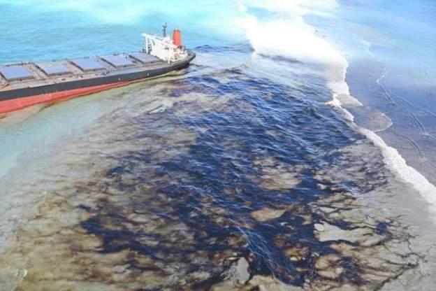 Katastrofa ekologiczna u wybrzeży Mauritiusa. Japoński armator przeprasza (wideo) - GospodarkaMorska.pl