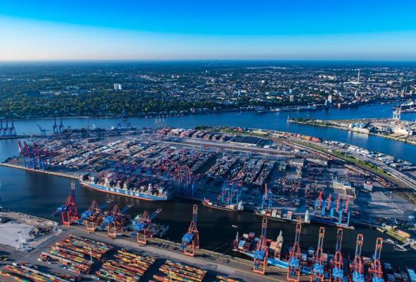 Port Hamburg: Znaleziono 1,5 ton kokainy na pokładzie kontenerowca CMA CGM - GospodarkaMorska.pl