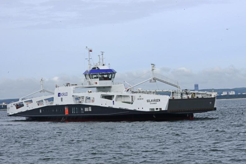 Remontowa Shipbuilding przekazała kolejny prom w ręce armatora - GospodarkaMorska.pl
