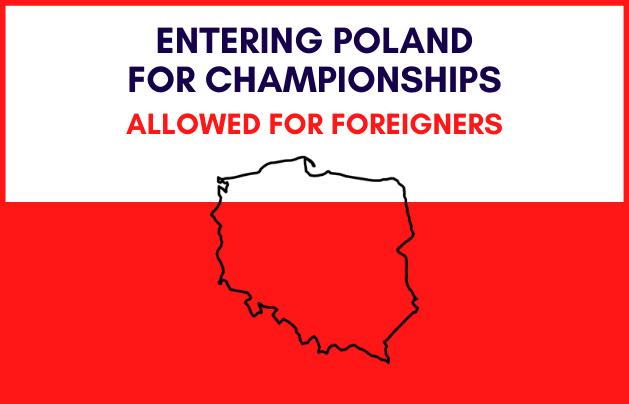 Wjazd cudzoziemców do Polski na imprezy mistrzowskie dozwolony! - GospodarkaMorska.pl