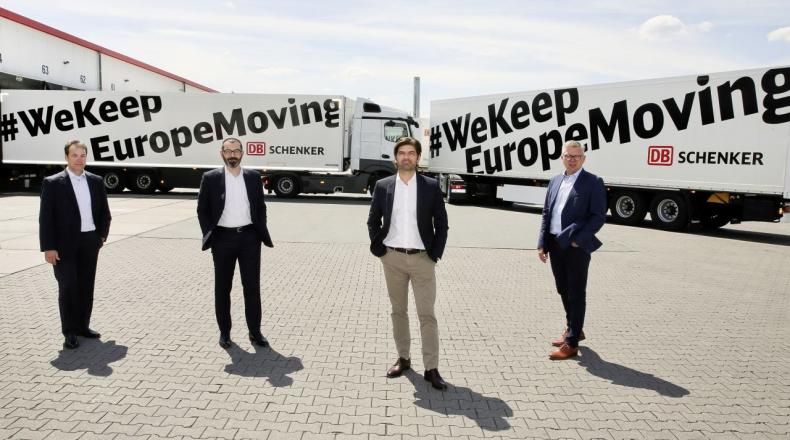 """Kampania DB Schenker #WeKeepEuropeMoving:  Europa na drodze do """"nowej normalności""""  - GospodarkaMorska.pl"""
