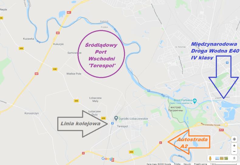 Czy w Terespolu powinien powstać główny Śródlądowy Port Wschodni? - GospodarkaMorska.pl