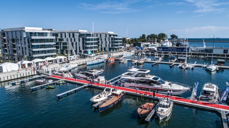 Luksusowe jachty w gdyńskiej marinie - za nami Polboat Yachting Festival [foto, wideo] - GospodarkaMorska.pl