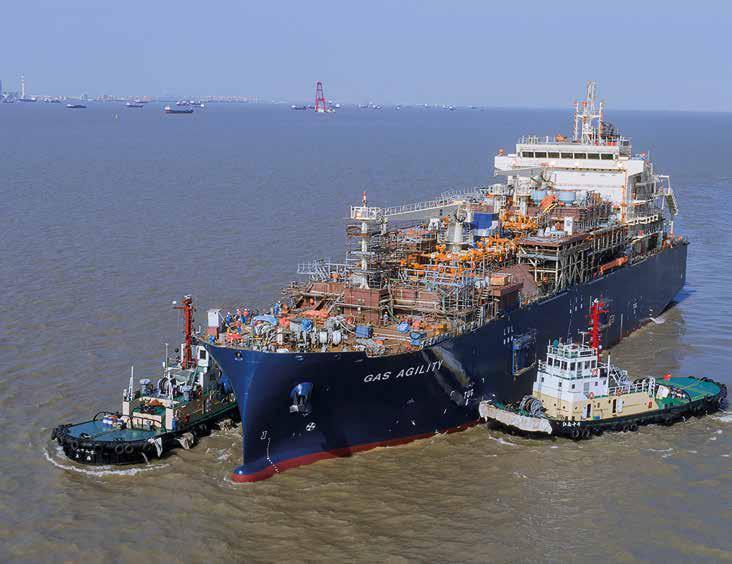 Największa na świecie bunkierka LNG przybyła do Rotterdamu - GospodarkaMorska.pl