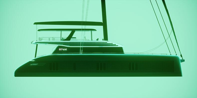 Ekologiczny jacht przyszłości: Sunreef 80 Eco - GospodarkaMorska.pl