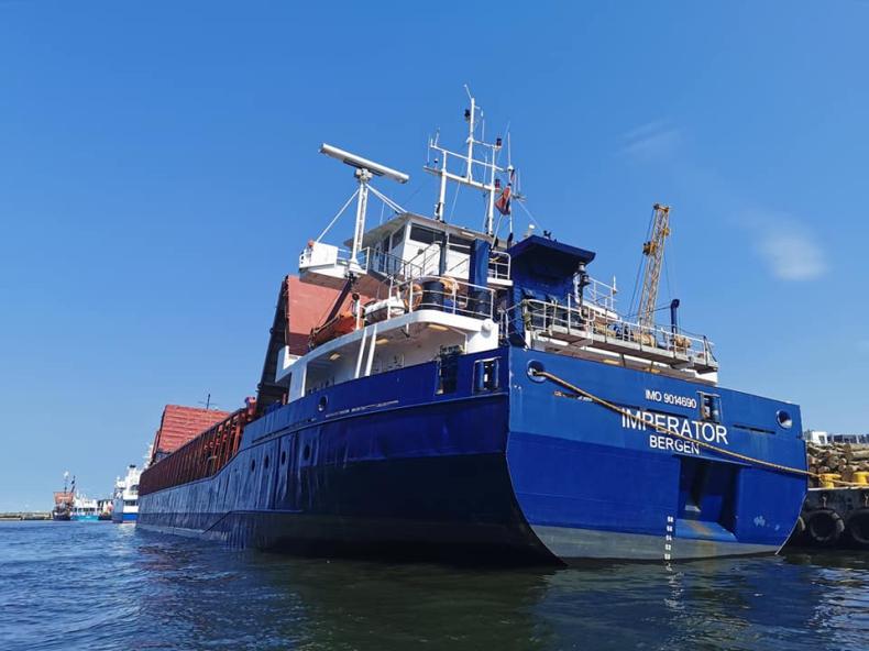 Blisko 15 000 ton przeładunków w sierpniu w Porcie Kołobrzeg - GospodarkaMorska.pl