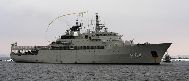 ISR: Napięta sytuacja na Bałtyku – Szwecja pokazuje determinację - GospodarkaMorska.pl