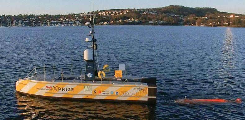 Autonomiczne łodzie przyspieszą eksplorację mórz i oceanów. Zobrazowano już m.in. dno Rowu Mariańskiego - GospodarkaMorska.pl