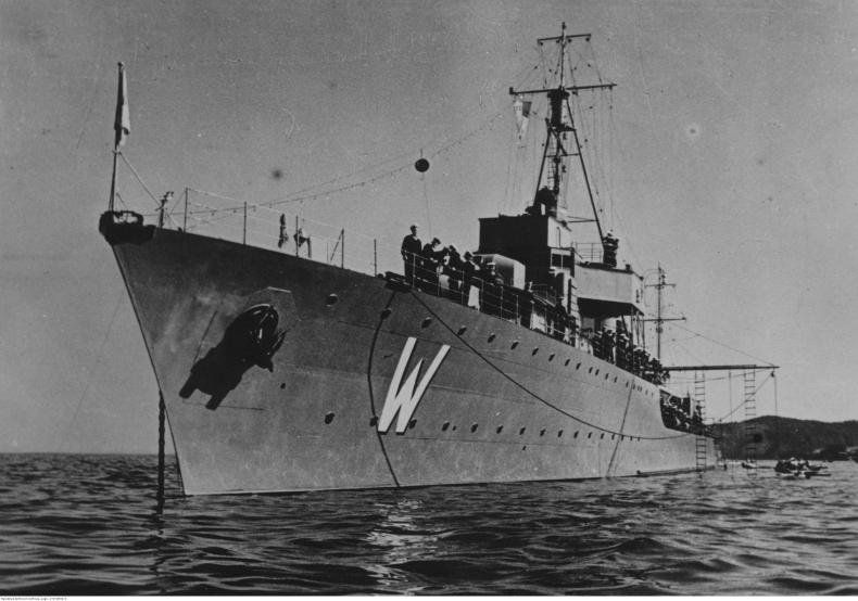 Okręt flagowy II RP Wicher w wojnie obronnej 1939 r. - GospodarkaMorska.pl