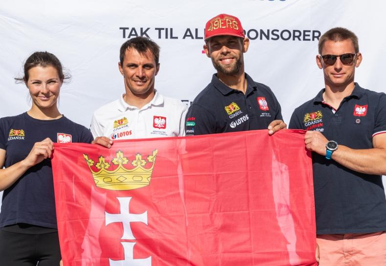 Polskie załogi w klasach 49er i 49erFX na podium regat Aarhus Olympic Week - GospodarkaMorska.pl