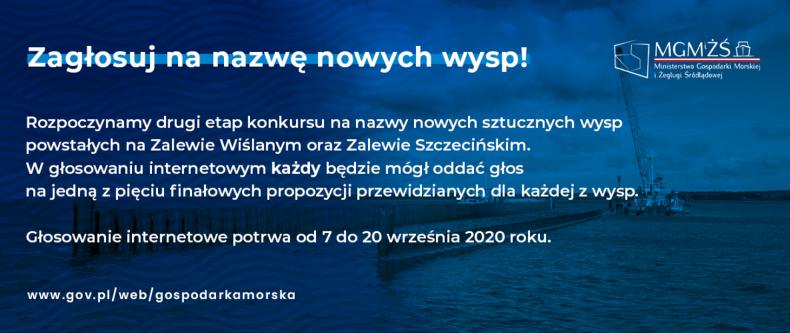 Zagłosuj na nazwę nowych wysp! - GospodarkaMorska.pl