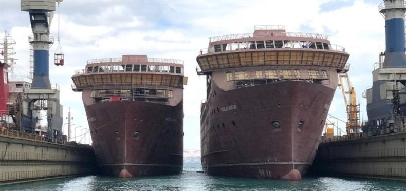 W Tersan Shipyard zwodowano dwie jednostki dla Havila Voyages - GospodarkaMorska.pl