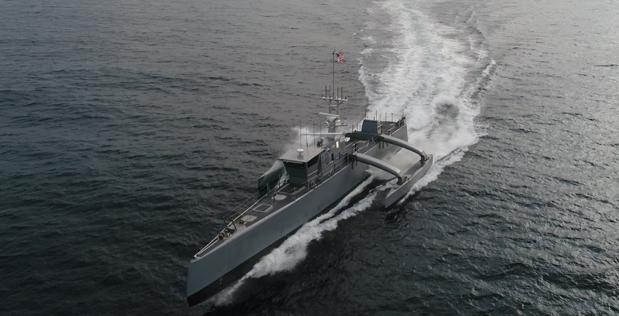 Amerykańska marynarka przyznaje kontrakty na rozwój dużych bezzałogowych statków powierzchniowych (wideo) - GospodarkaMorska.pl