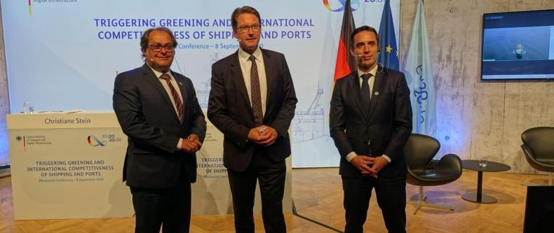 Minister Gróbarczyk uczestniczył w ministerialnej konferencji ds. żeglugi morskiej w Hamburgu - GospodarkaMorska.pl