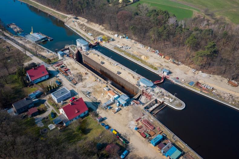 Zakończono modernizację dwóch kluczowych obiektów na Kanale Gliwickim - GospodarkaMorska.pl