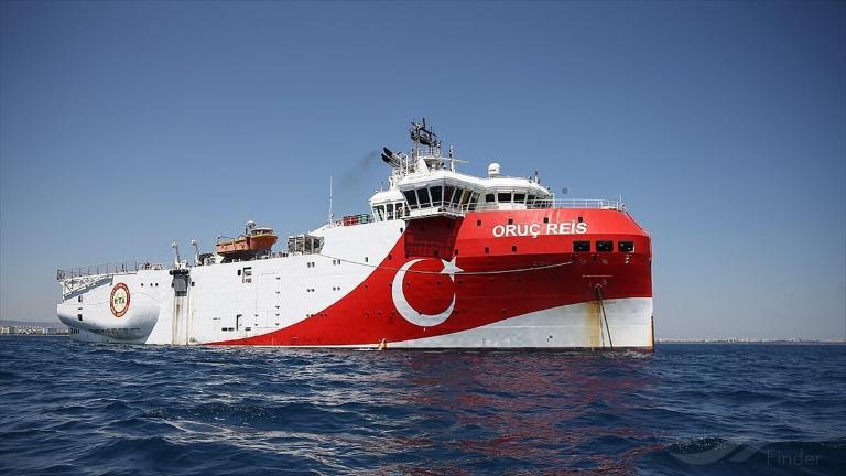 Turecki statek Oruc Reis powrócił do południowego wybrzeża kraju - GospodarkaMorska.pl