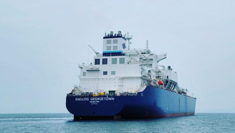 Nowy gazowiec LNG firmy GasLog rozpoczyna próby morskie - GospodarkaMorska.pl