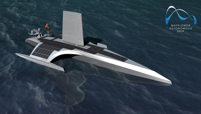 MAS - bezzałogowy, w pełni autonomiczny statek wyruszy pół roku później [wideo] - GospodarkaMorska.pl