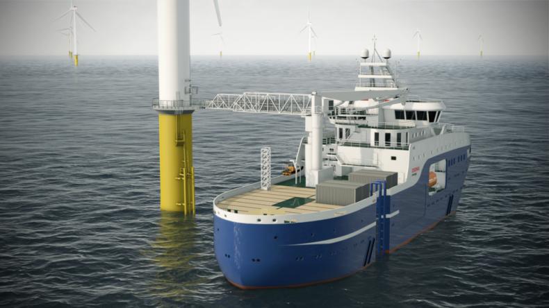 SOV dla Hornsea Two OWF zwodowany w Turcji - GospodarkaMorska.pl