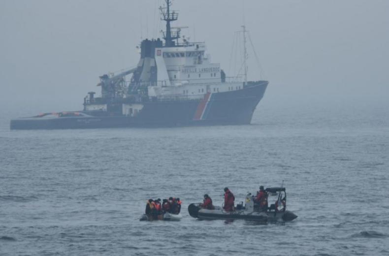 88 migrantów uratowano w pięciu operacjach na kanale La Manche - GospodarkaMorska.pl