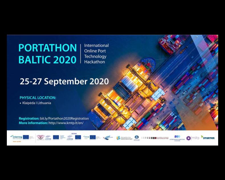 Innowacyjne rozwiązania dla portów morskich na Online Port Technology Hackathon  - GospodarkaMorska.pl