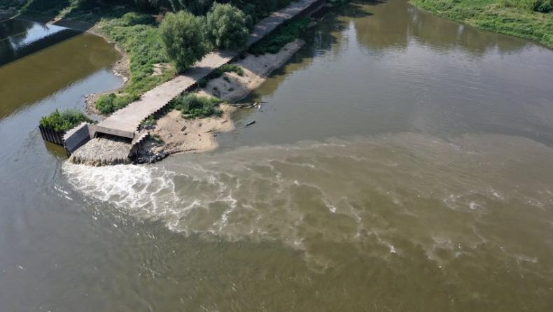 Awaryjny zrzut ścieków do Wisły nie ma wpływu na jakość wody w Wiśle i w Bałtyku - GospodarkaMorska.pl