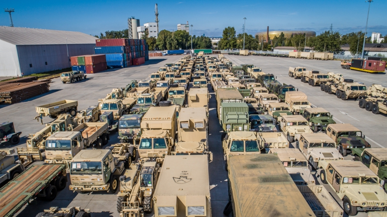 Będzie więcej amerykańskich wojsk w Polsce - GospodarkaMorska.pl