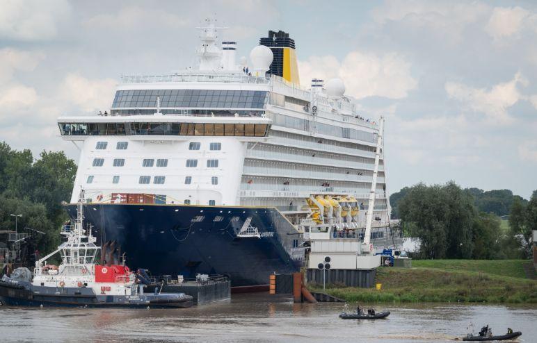 Meyer Werft: Spirit of Adventure dostarczone do Saga Cruises - GospodarkaMorska.pl